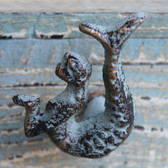 Green Mermaid Iron Knob