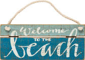 Welcome to the Beach Slat Sign