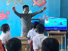 Classroom Video Screen