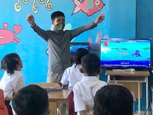 Classroom Video Screen