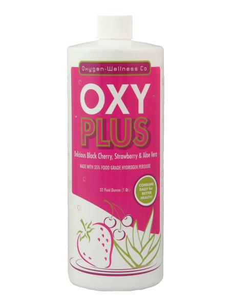 Oxygen Wellness Co Oxyplus Black Cherry Amp Strawberry 32 Oz