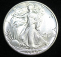 1940 WALKING LIBERTY HALF UNC COIN