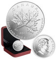 2011 $10 1/2 OZ SILVER MAPLE LEAF FOREVER CANADA