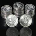 """1968 Mexican Silver 25 Pesos """"Olympics"""" (AU-BU)"""