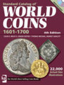 World Coins 1601-1700 Price Guide - 4TH EDITION w/dvd