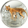2011 AUSTRALIAN TASMANIAN TIGER 1OZ SILVER PROOF COIN