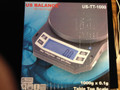 US BALANCE SCALE 1000G X .1G JEWELERS SCALE