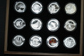 2013 $10 Fine Silver 12-Coin Set with Deluxe Wooden Box - O Canada Series