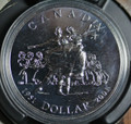 2001 Brilliant Uncirculated Dollar-National Ballet of Canada