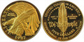 1987 $5 Commemorative Gold (Constitution) -- PROOF