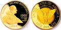 1997 $5 Commemorative Gold (Roosevelt) -- PROOF