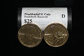 "Presidential Dollar: FRANKLIN D. ROOSEVELT (32th President) ""D"" MINT ROLL"