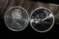 1965 CANADA ROLL OF 25 CENT SILVER QUARTERS PROOFLIKE COINS (40 COINS)