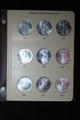 1986 - 2015 AMERICAN SILVER EAGLE SET W/ DANSCO ALBUM (30) COINS .999 FINE SILVER