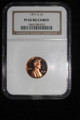 1971 S LINCOLN CENT PENNY NGC PF 65 RED CAMEO #98-012