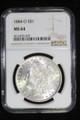 1884 O SILVER MORGAN DOLLAR COIN NGC MS64 #35-029
