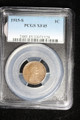 1915 S WHEAT LINCOLN CENT PENNY COIN PCGS XF45 #71328