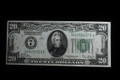 1928 $20 FEDERAL RESERVE PAPER MONEY NOTE VERY FINE #322A