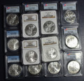 1986-2016 Silver Eagle MS-69 NGC/PCGS Graded (Random Year)