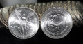 1983 MEXICO LIBERTAD 1oz .999 FINE SILVER ROUND (FRESH UNCIRCULATED COIN FROM ROLL)