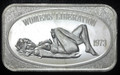 "1oz .999 FINE SILVER BAR ""PROOF VERSION"" (WOMENS LIBERATION) UNITED STATES SILVER CORP."