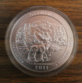 2011-P 5oz Silver ATB MINT W/ BOX PAPERS (Olympic Park)