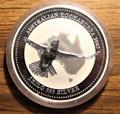 2002 Australian Kookaburra 1 kilo 999 Silver Coin Bullion