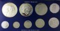 1976 Jamaica Proof set 9 coin