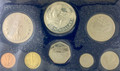 1973 Barbados Sterling Silver Proof set