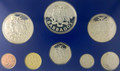 1975 Barbados Sterling Silver Proof set