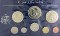 1975 Barbados Specimen set
