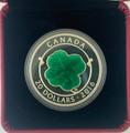 2016 $20 Silver Four Leaf Clover Canada