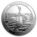 2011 5oz Silver ATB (Gettysburg National Military Park, Pennsylvania)