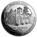 2016 5oz Silver ATB (Harpers Ferry National Historical Park, West Virginia)