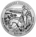 2016 5oz Silver ATB (Theodore Roosevelt National Park, North Dakota)