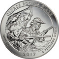 2017 5oz Silver ATB (George Rogers Clark National Historical Park, Indiana)