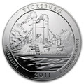 2011 5oz Silver ATB (Vicksburg National Military Park, MS)