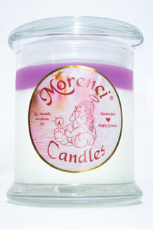 Fragrant crushed raspberries mingled with a zest of orange peel and aromatic sage set upon a foundation of herbal thyme and muguet. (Color-Pearl White with a Pale Violet Crown)