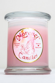 Heavy notes of crushed pink tea rose petals and wild brier rose buds blended with fresh muguet will take you to back to a Victorian Rose Garden. (Color-Blushing Pink)