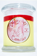 An unusual infusion of tangy sweet orange slices, ripe red berries and a dash of Moroccan spice and red chili peppers make this candle fragrance a special treat! I like it! (Yellow with Red Crown)