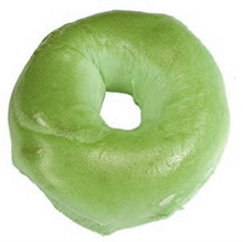 St. Patricks Day Green NY Bagel.