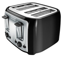 BLACK+DECKER 4 Bagel Toaster