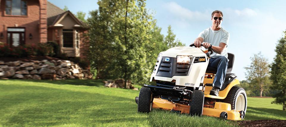 Cub Cadet LTX Series Lawn Tractors