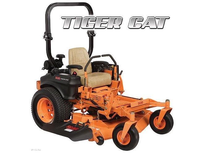 Scag Tiger Cat Commercial Zero Turn Mower 48in Deck