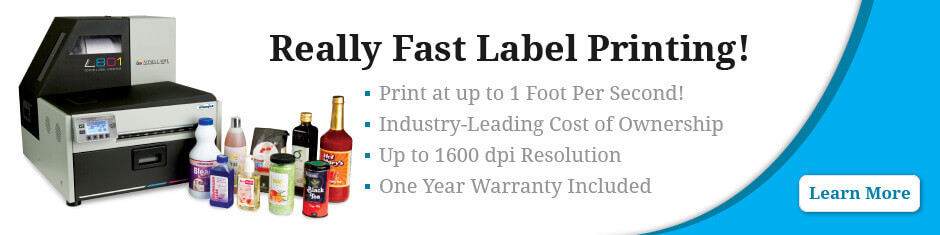 fast label printing