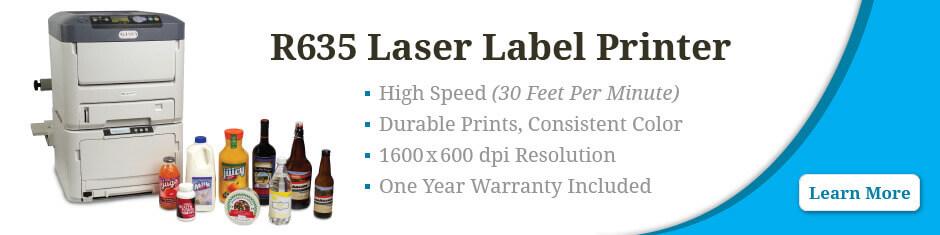 R635 laser printer