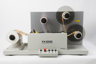 Primera FX1000 Matrix Removal System - used to remove matrix from printed label rolls with dual take-up mandrels)