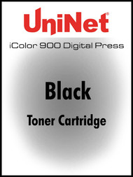 iColor 900 Digital Press Black toner cartridge