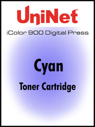 iColor 900 Digital Press Cyan toner cartridge