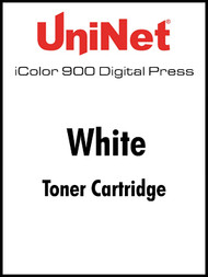 iColor 900 Digital Press White toner cartridge